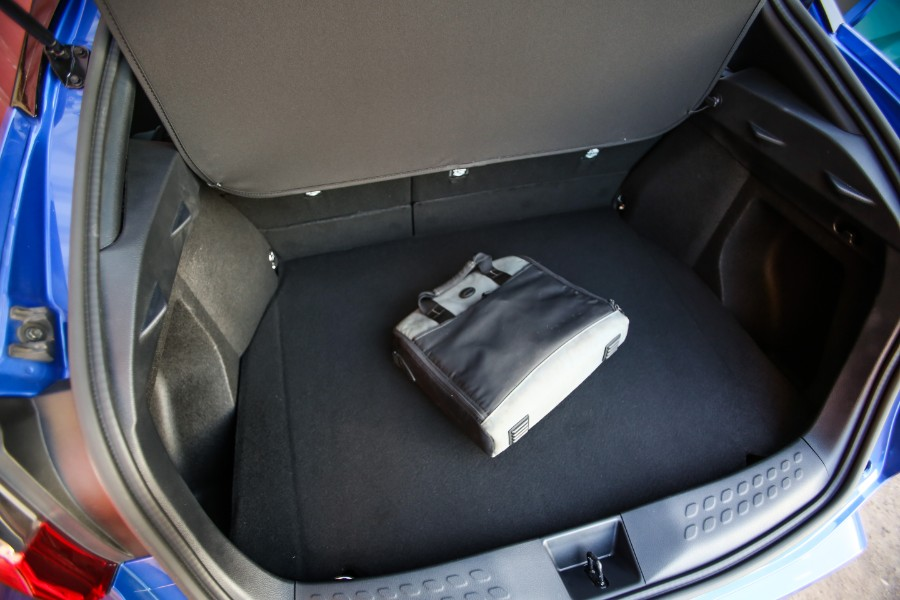 2019-Toyota-C-HR-Interior-Trunk-Space-with-Bag