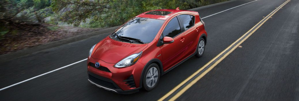 2018 Toyota Prius c Exterior Driver Side Front Aerial