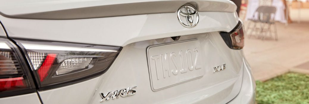 2019 Toyota Yaris Sedan Exterior Rear Fascia