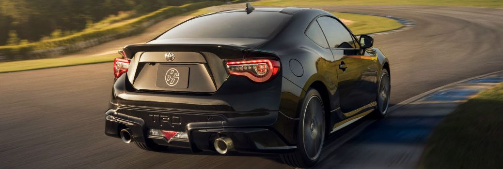2019 Toyota 86 TRD Special Edition Exterior Passenger Side Rear Angle