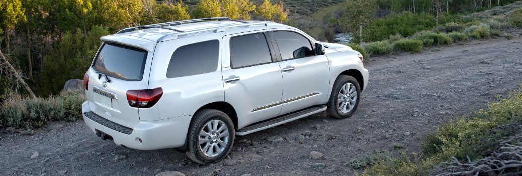 2019 Toyota Sequoia Exterior Passenger Side Rear Profile