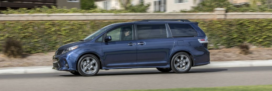 2019 Toyota Sienna Exterior Driver Side Profile