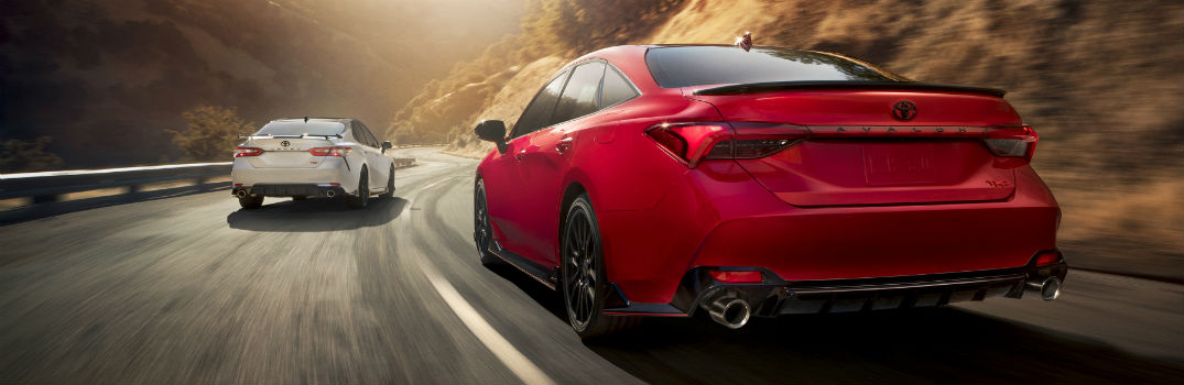 2020 Toyota Camry & Avalon TRD Release Dates