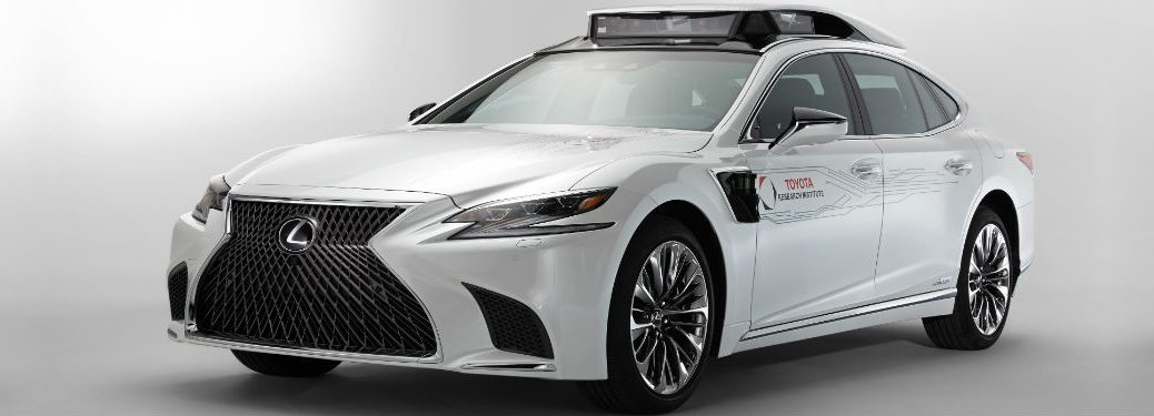 Toyota Research Institute P4 Automated Driving Test Vehicle Exterior Driver Side Front Profile