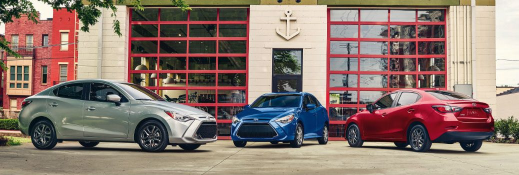 2019 Toyota Yaris Sedan Trim Levels Together