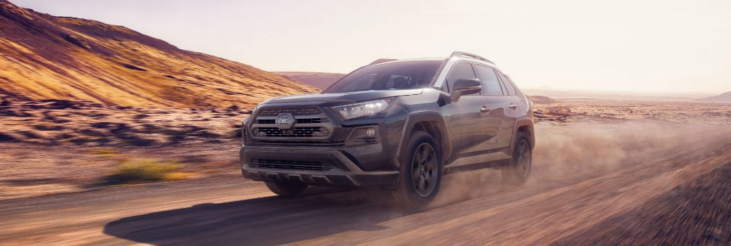 2019 Toyota RAV4 TRD Off-Road Exterior Driver Side Front Angle