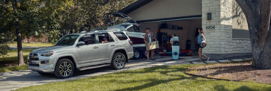 2019 Toyota 4Runner Exterior Driver Side Front Profile Open Tailgate