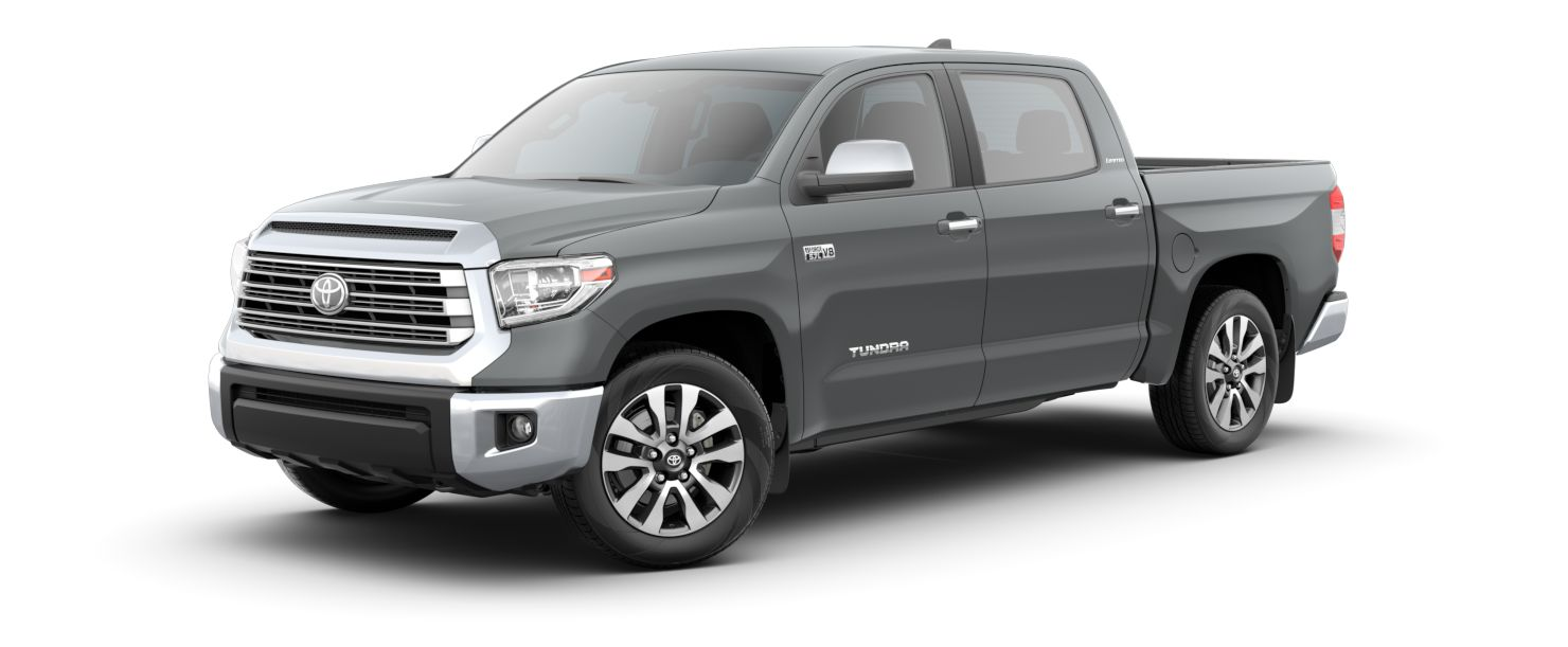 2020 Toyota Tundra Exterior Driver Side Front Profile in Cement