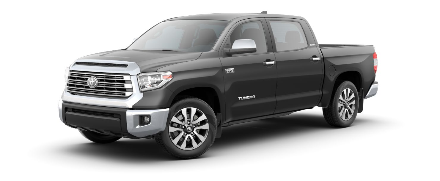 2020 Toyota Tundra Exterior Driver Side Front Profile in Magnetic Gray Metallic