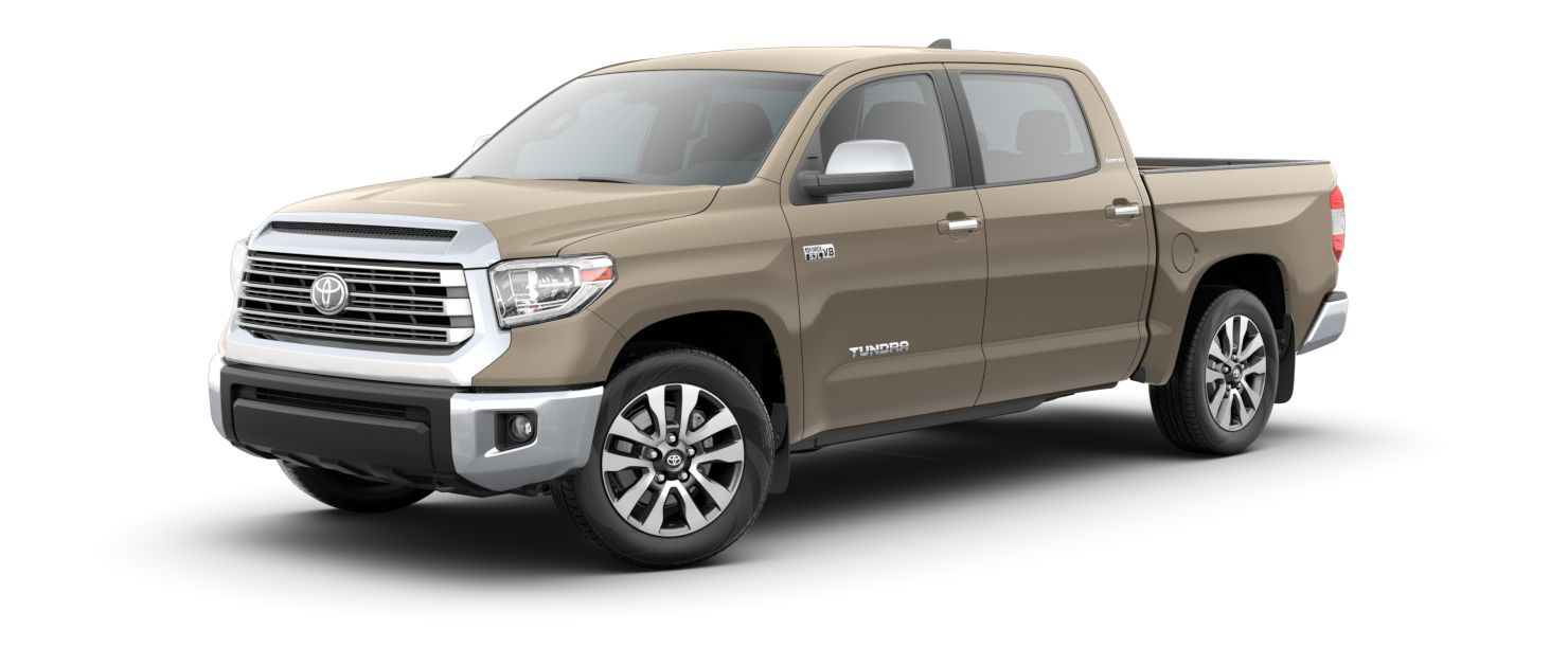 2020 Toyota Tundra Exterior Driver Side Front Profile in Quicksand