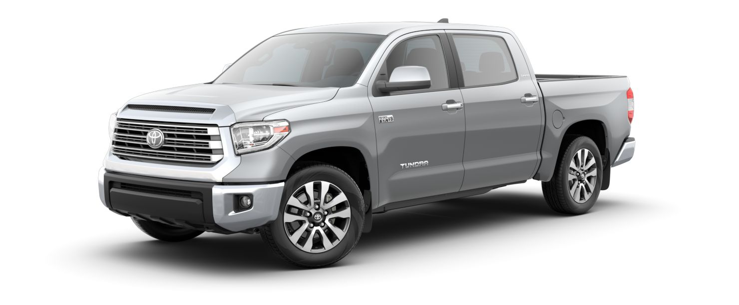 2020 Toyota Tundra Exterior Driver Side Front Profile in Silver Sky Metallic