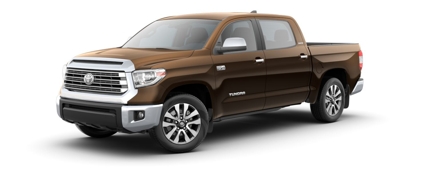 2020 Toyota Tundra Exterior Driver Side Front Profile in Smkoked Mesquite