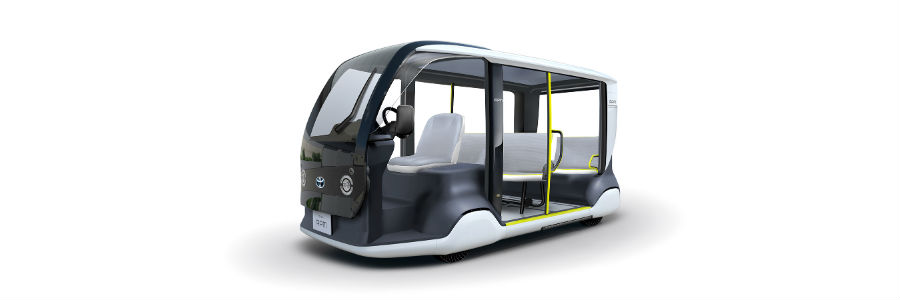 Accessible People Mover APM Exterior Driver Side