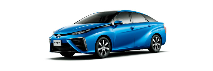 Toyota Mirai Exterior Driver Side