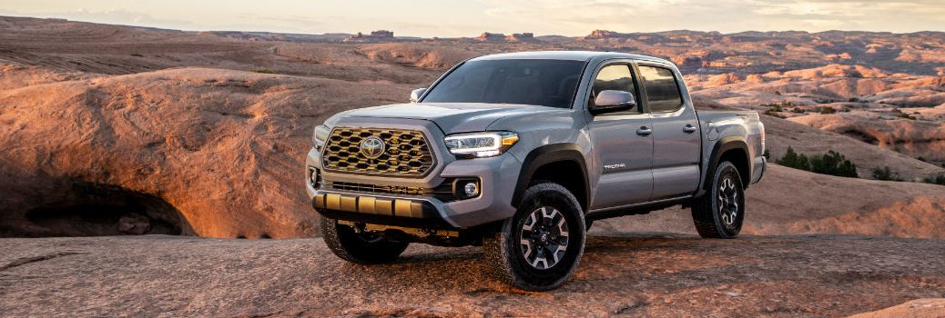 2020 Toyota Tacoma TRD Off-Road Exterior Driver Side Front Profile