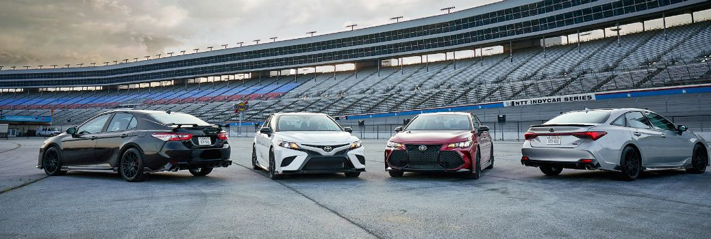 2020 Toyota Avalon and Camry TRD Lineup Exterior Shots