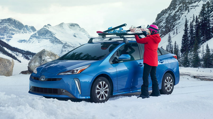 2020 Toyota Prius Exterior Driver Side Front Profile