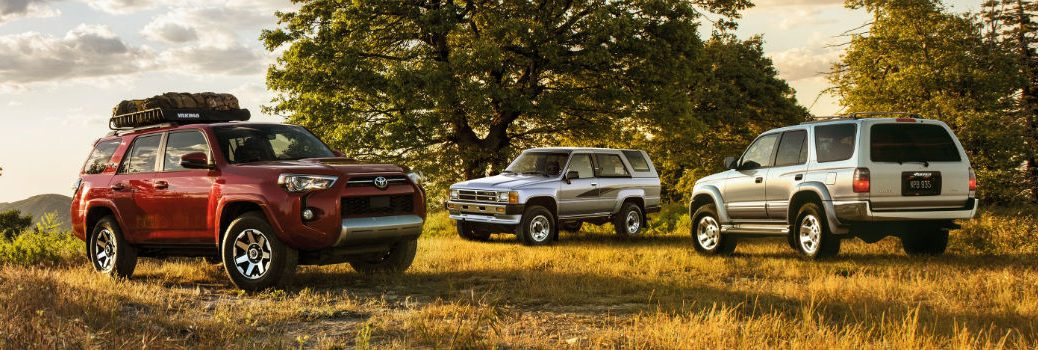 2020 Toyota 4Runner Exterior Profile Views