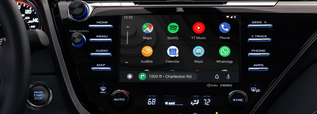 2019 Camry infotainment showcase