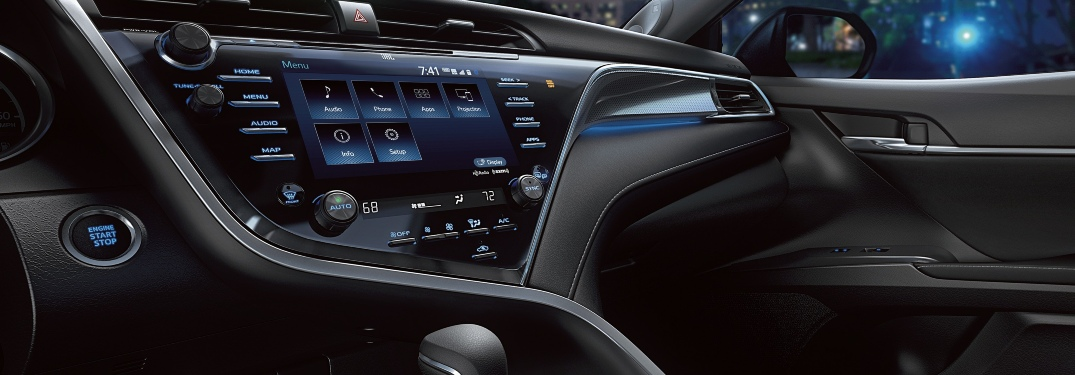 How to use Toyota navigation?