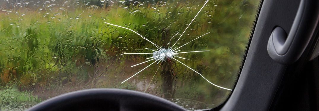 how big of a crack can be repaired on a windshield