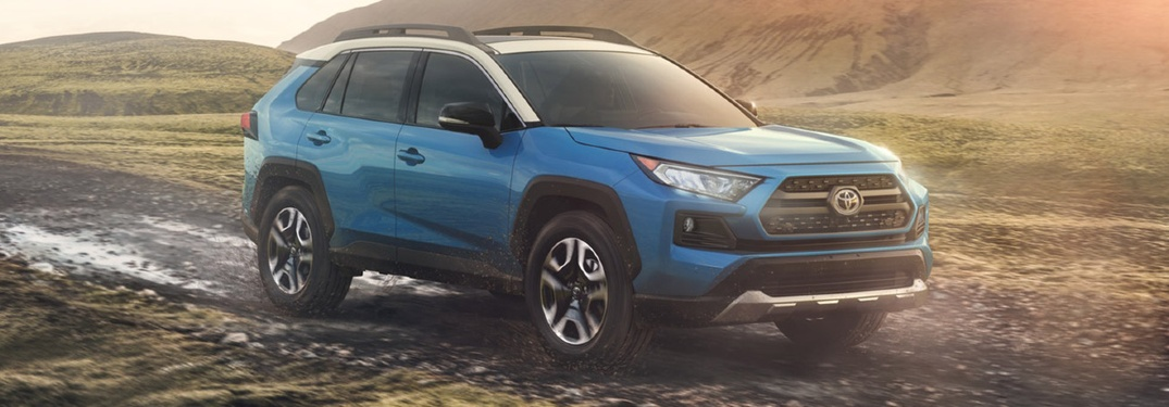 What colors does the 2020 Toyota RAV4 come in?