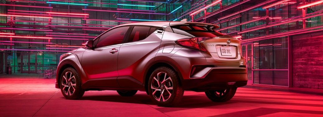 2020 Toyota C-HR parked in an artsy area