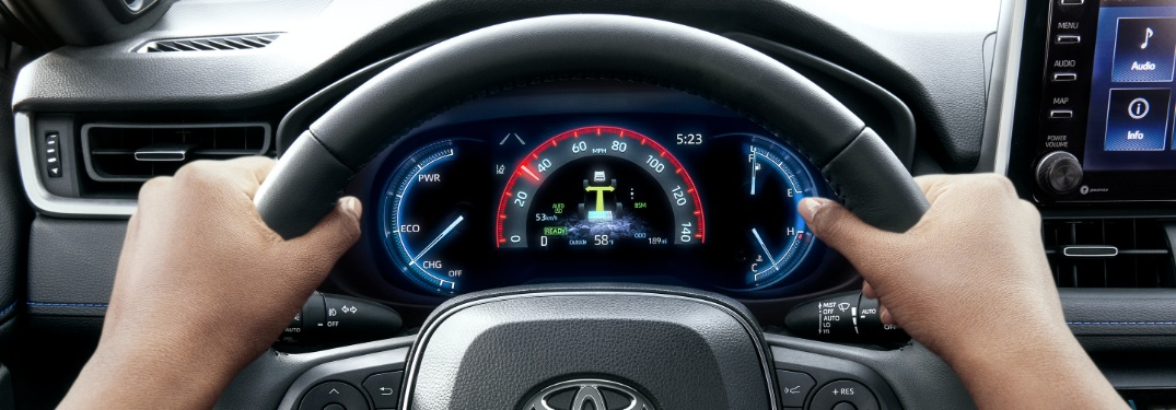 How to switch RAV4 speedometer from analog to digital?