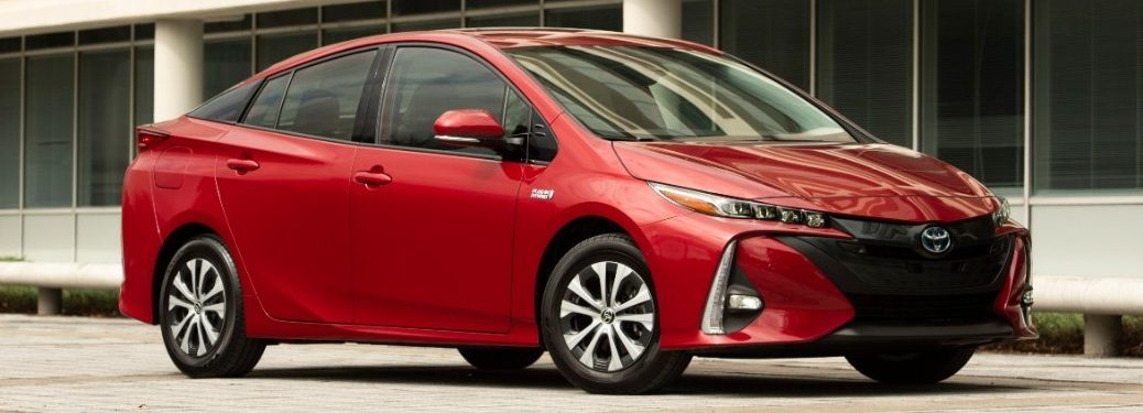 2021 Toyota Prius Prime from exterior front passenger side
