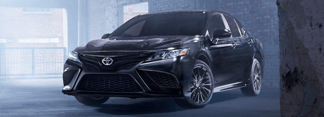 2021 Camry in a warehouse