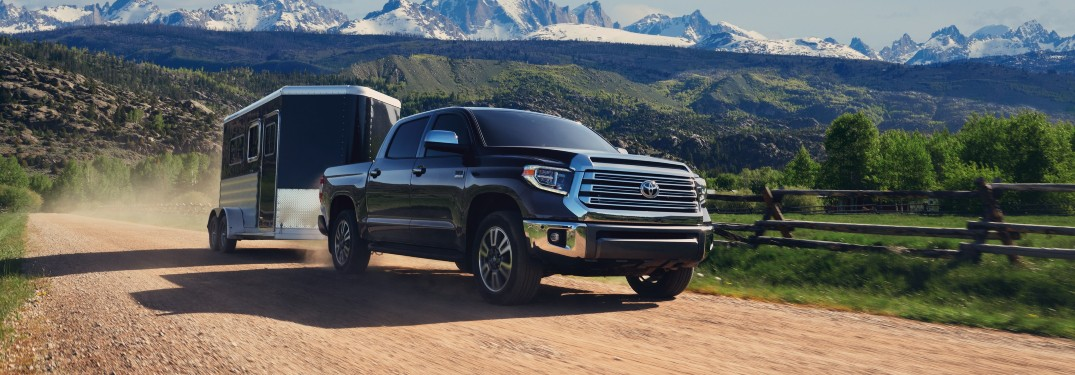 How much can the 2021 Toyota Tundra tow?