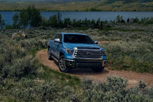 2021 Tundra driving on trail