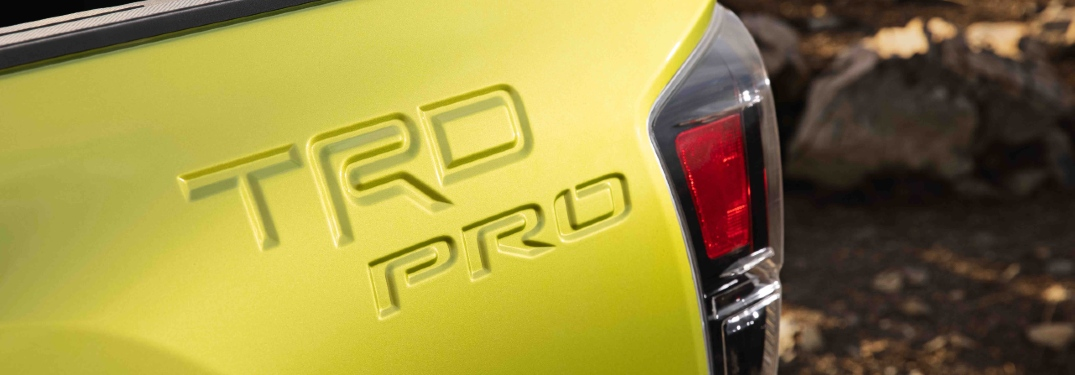 What does the new Tacoma TRD Pro look like?