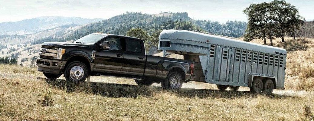 Ford F-Series towing a trailer