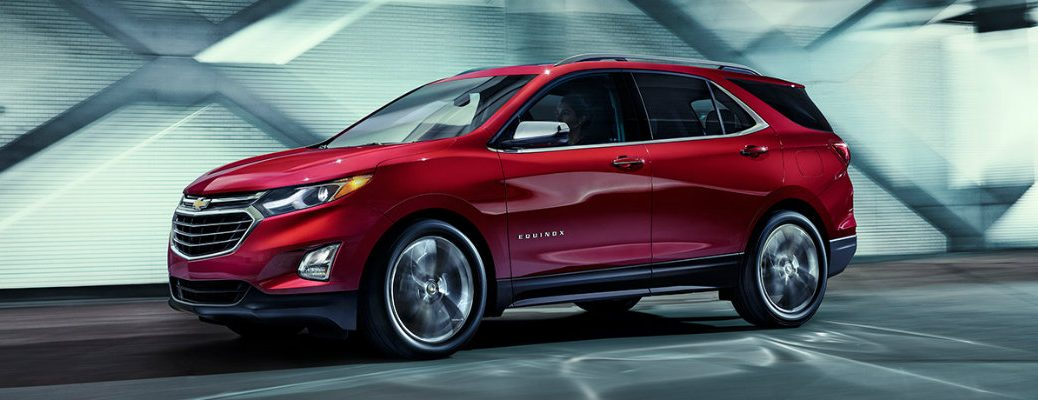 Red Chevy Equinox
