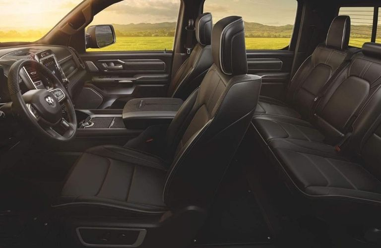 2020 RAM 1500 interior seats view