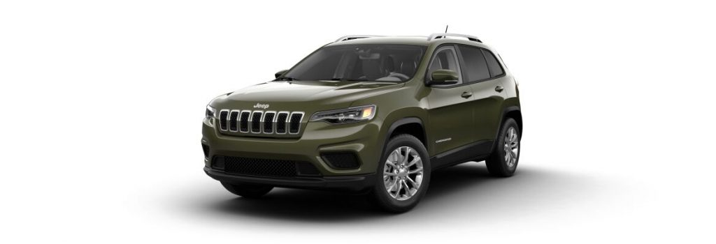 2021 Jeep Cherokee Olive Green