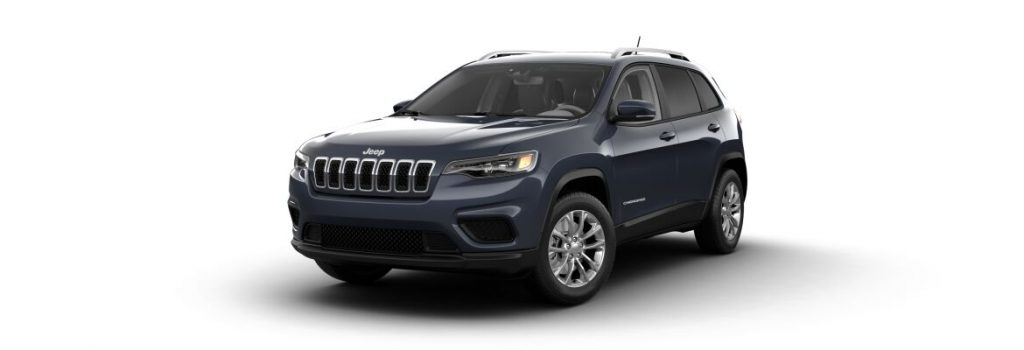 2021 Jeep Cherokee State Blue