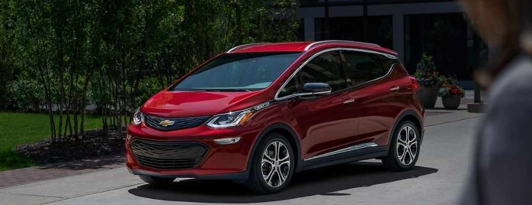 2021 Chevrolet Bolt parked outside view