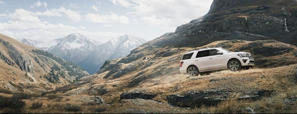 2021 Ford Expedition driving up hill