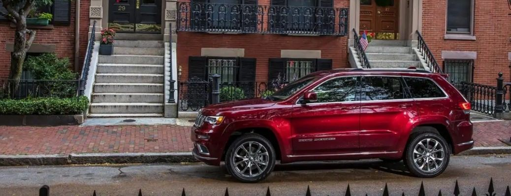 What Exterior Color Options are on the Jeep Grand Cherokee?