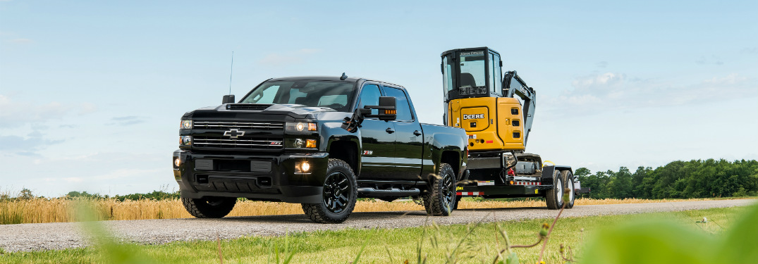 How Much Can the 2018 Chevrolet Silverado 2500 Tow?