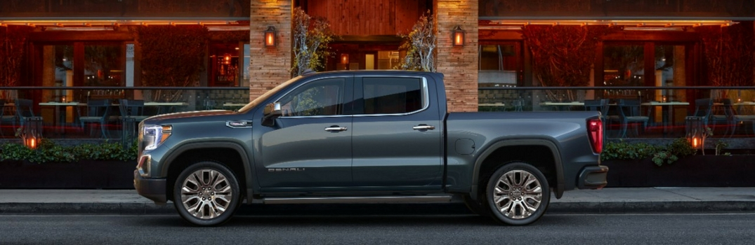 2019 Gmc Sierra New Body Style Photos Thompson Chevrolet