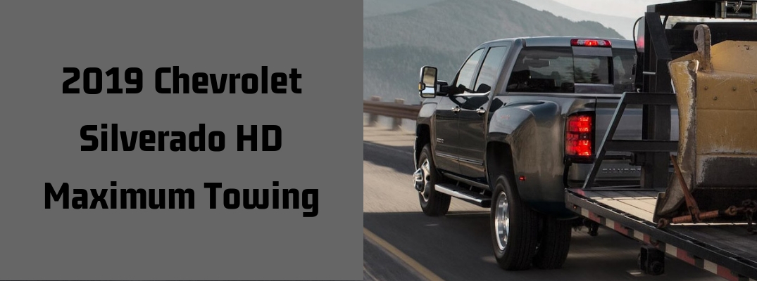 How Much Can the 2019 Chevrolet Silverado HD Tow?