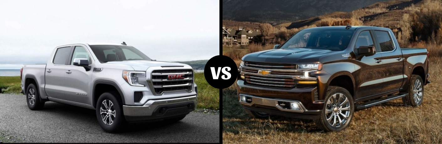 Gmc Vs Chevy >> What Is The Difference Between The 2019 Gmc Sierra And The