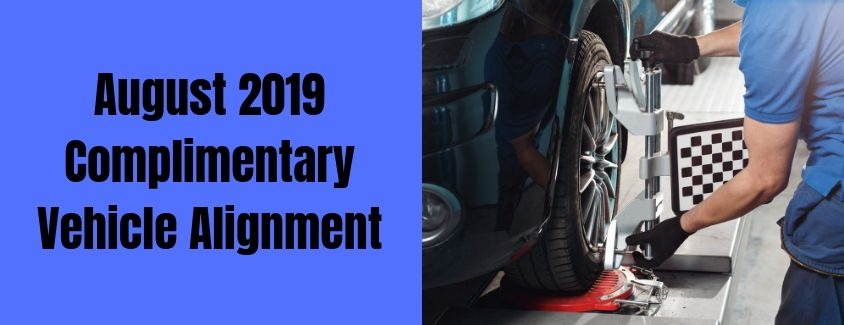 Complimentary Vehicle Alignment header
