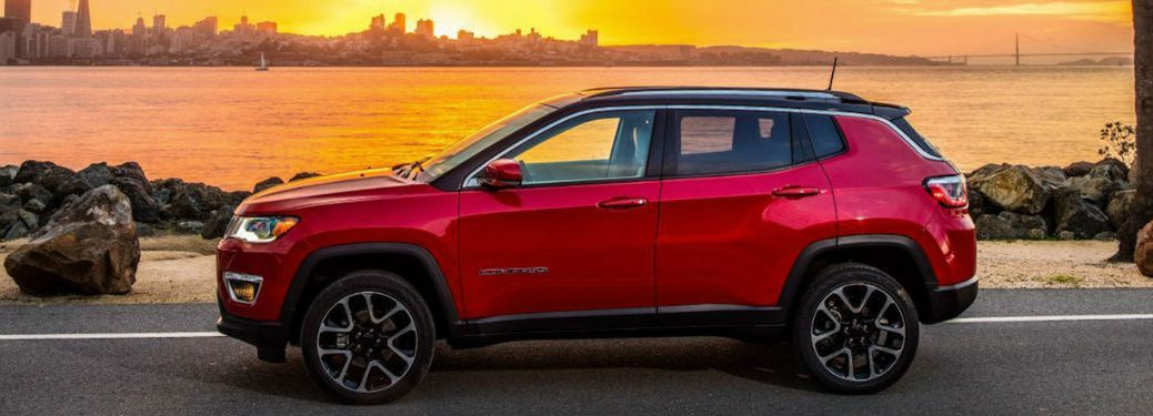 2019 Jeep Compass side profile