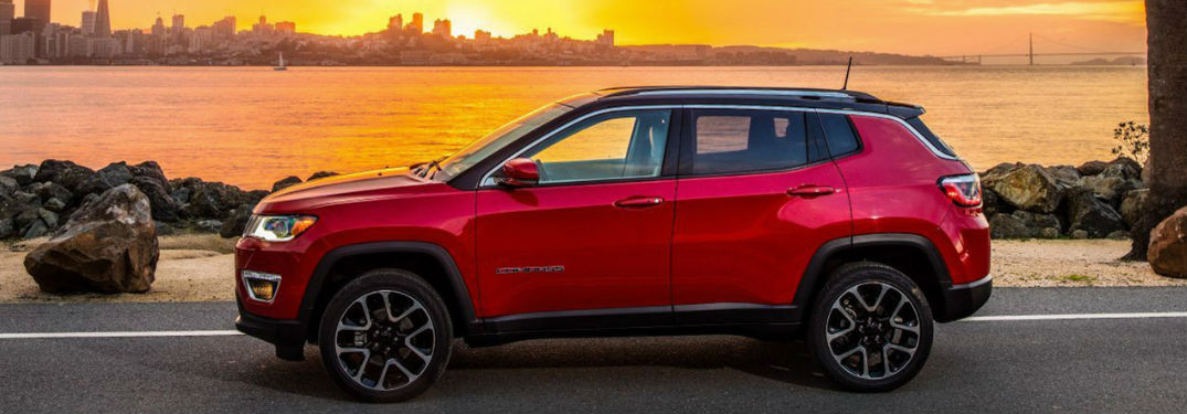 Long list of technology and comfort features available in the new 2019 Jeep Compass crossover SUV