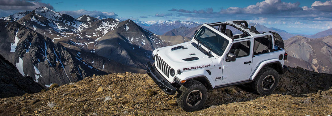 Multiple four-wheel-drive options available in new 2019 Jeep Wrangler help make off-roading more fun