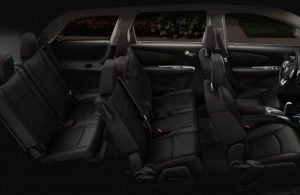 2019 Dodge Journey interior passenger seats